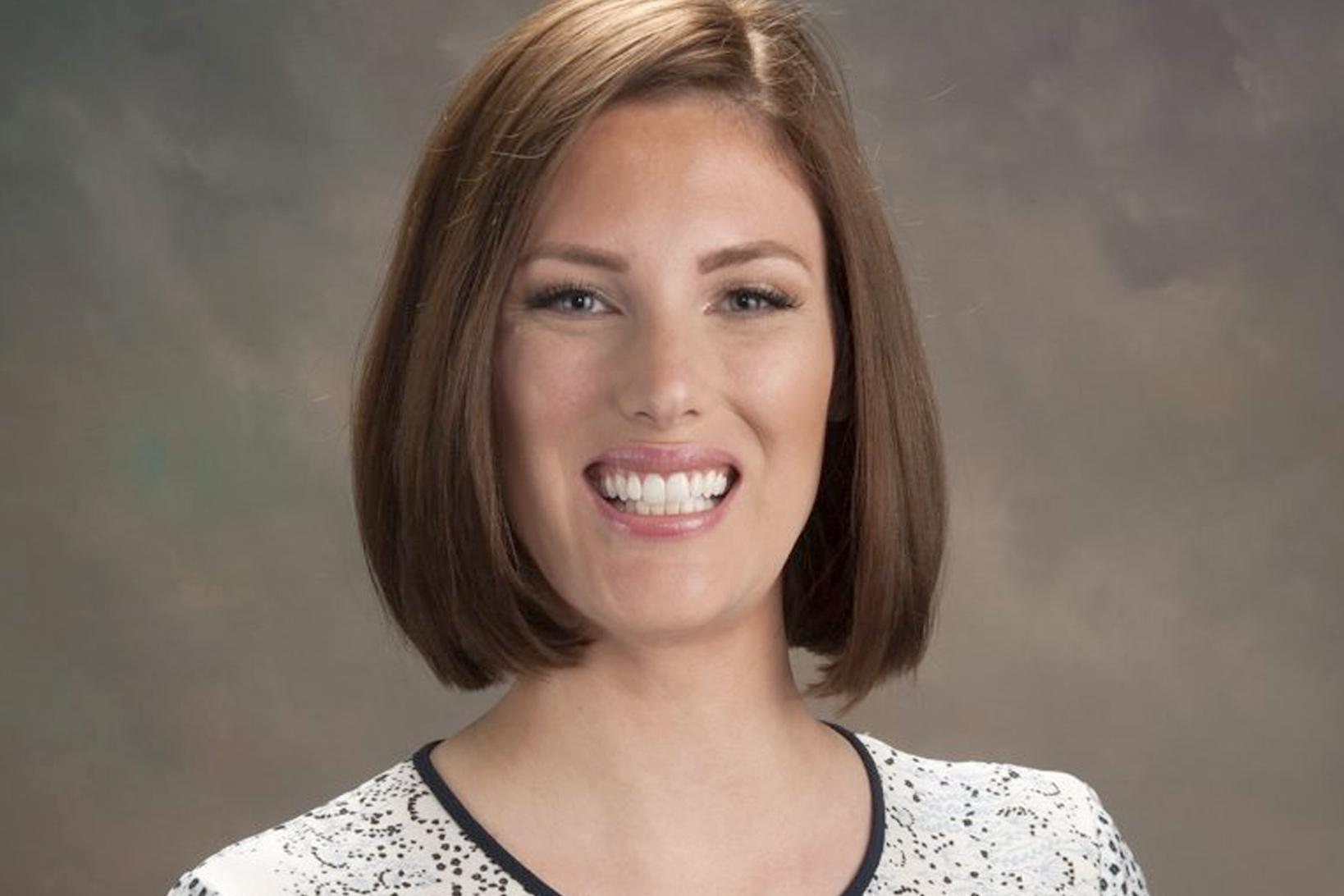Headshot of Dr. Katherine Dahlberg.