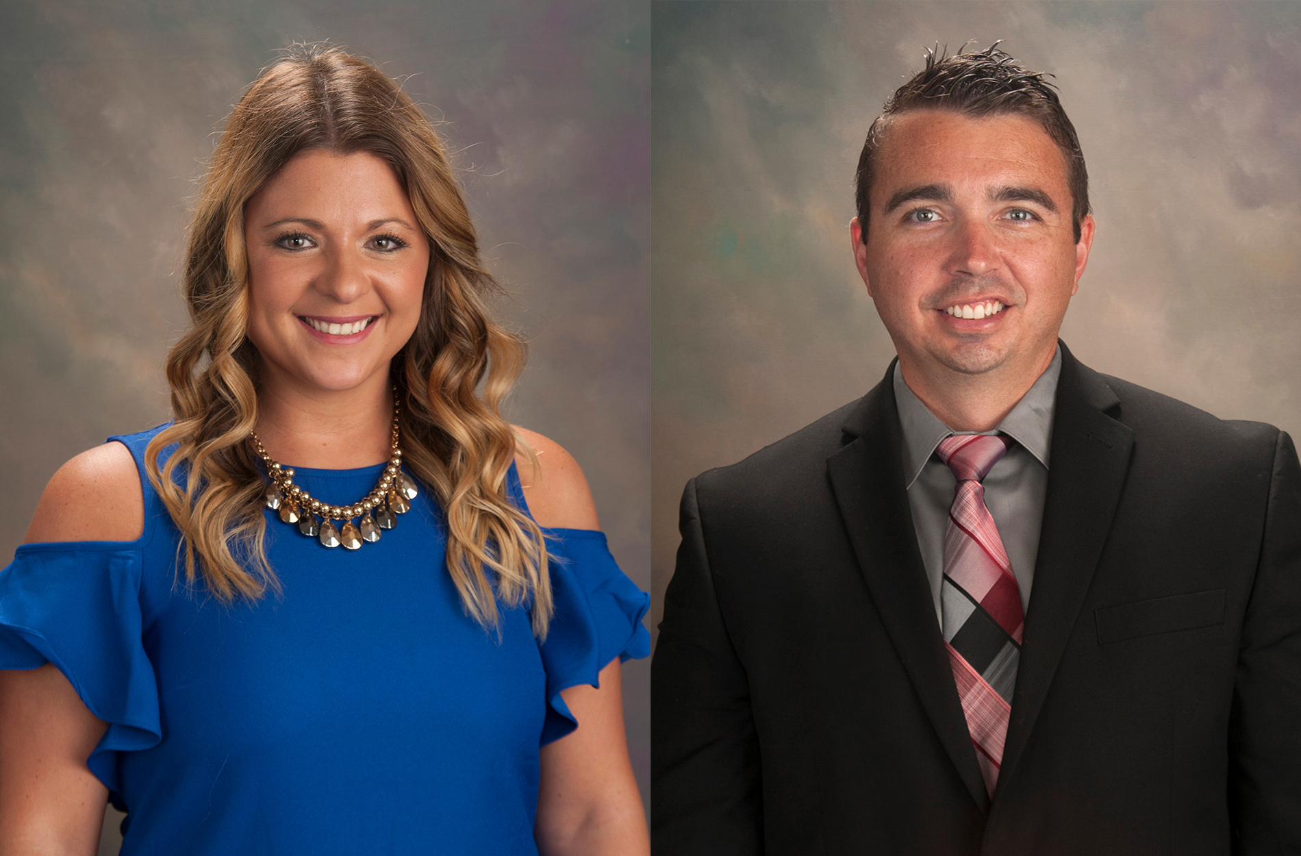 Head shots of Dr. Candace Prince and Dr. Joshua Prince